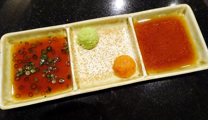 心齋橋「みやざき館」的醬汁