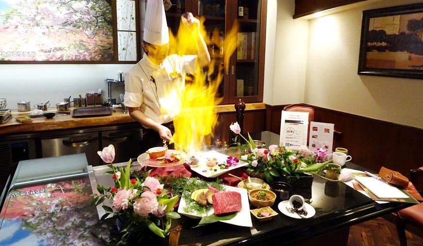 心齋橋「みやざき館」的一流廚師廚藝