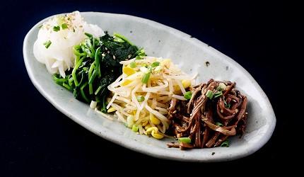 韓式泡菜4種拼盤