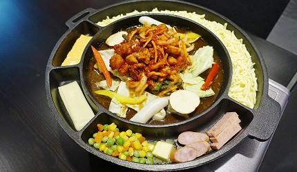 起司春川炒雞鍋+銅盤烤肉吃到飽套餐