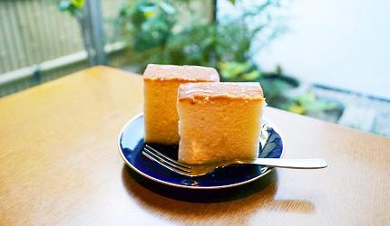 大關甘辛關壽庵的「酒釀蜂蜜蛋糕」美味香醇