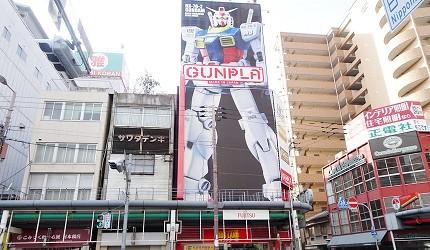 大阪秋葉原藥妝家電3C用品齊全「JOSHIN上新電機」的「SUPER KIDS LAND CHARACTER館」外牆