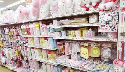 大阪秋葉原藥妝家電3C用品齊全「JOSHIN上新電機」的「SUPER KIDS LAND本店」Hello Kitty