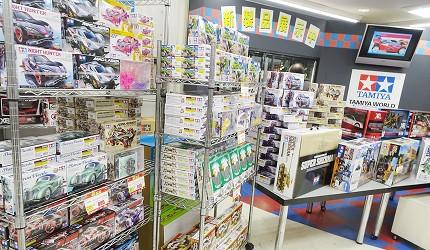 大阪秋葉原藥妝家電3C用品齊全「JOSHIN上新電機」的「SUPER KIDS LAND本店」3樓四驅車專區