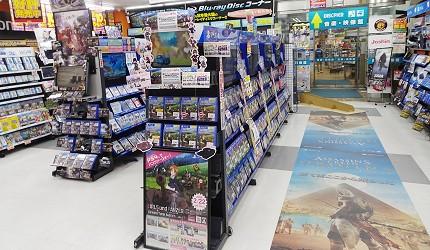 大阪秋葉原藥妝家電3C用品齊全「JOSHIN上新電機」的「DISC・PIER館」人氣電玩