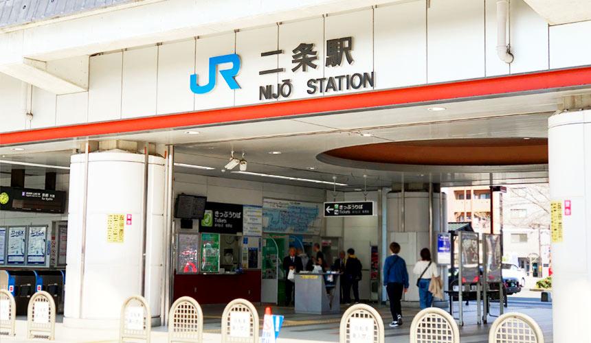 日本关西自由行必逛京都超好买的「高木批发超市」搭电车从二条駅出来