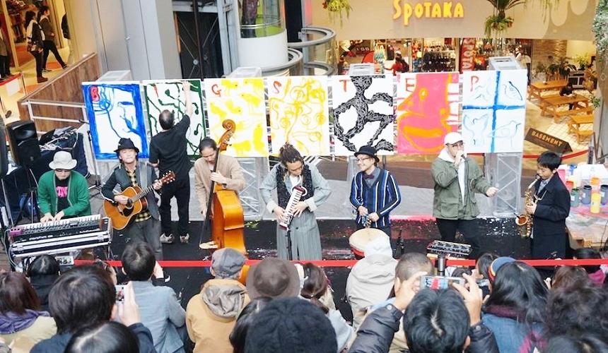 關西大阪自由行推薦行程:大阪美國村「BIG STEP」的演唱會活動