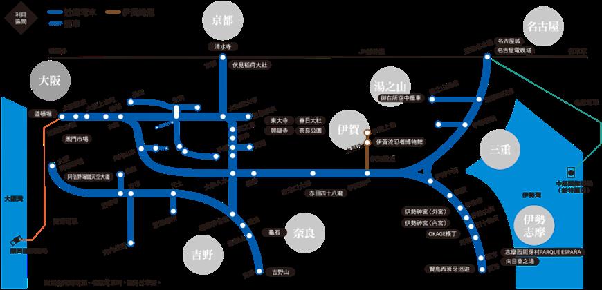 【一票玩到底】近铁周游券Kintetsu Rail Pass