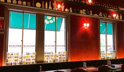 日本京都酒吧推介酒美術館內充滿浪漫氛圍的環境