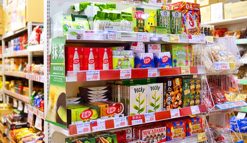 日本关西自由行必逛!京都人御用超好买的「高木批发超市」京都抹茶商品伴手礼
