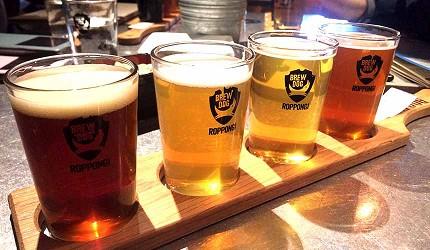 大阪難波道頓堀居酒屋吃到飽喝到飽「美食俱樂部 酒菜館」啤酒示意圖