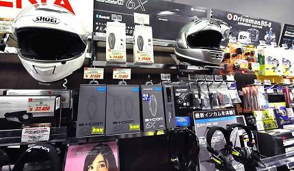 買安全帽就來這!西日本機車配件「RICOLAND CuBe 京都店」販售的藍芽耳機