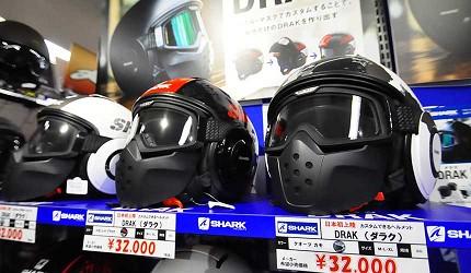 買安全帽就來這!西日本機車配件「RICOLAND CuBe 京都店」女生安全帽款式
