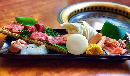 大阪道頓堀「はや・しゃぶ兆」燒肉、涮涮鍋吃到飽燒肉單品