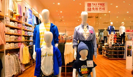 大阪關西機場附近大型購物中心「AEON MALL永旺夢樂城臨空泉南」的UNIQLO