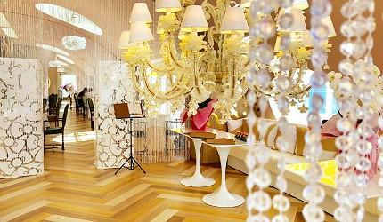 日本兵庫淡路島大型「HELLO KITTY SMILE」海景主題餐廳的「SMILE Restaurant」