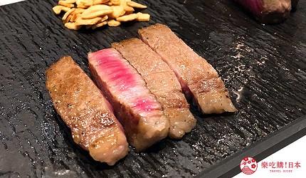 神户三宫名店「彩 SAI-DINING」A5等级神户牛:稀少部位 雪花大腿臀肉