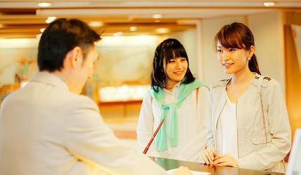 城崎日和山溫泉旅館「金波樓」辦理住宿手緒