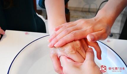 京都美人的秘密美妝保養品「京乃雪」按摩霜 Massage Cream(マッサージクリーム )推開試用