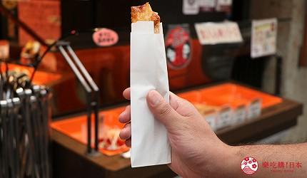 奈良必逛商店街「饼饭殿中心街」的推荐百年老舖「鱼万」的萨摩炸鱼饼