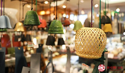 奈良必逛商店街「餅飯殿中心街」的推薦店家「器まつもり」的風鈴商品