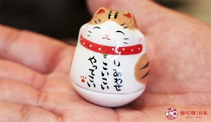 奈良必逛商店街「饼饭殿中心街」的推荐店家「器まつもり」的人气幸福不倒翁