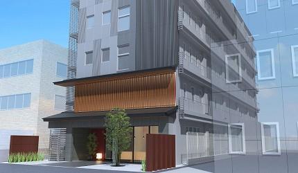 京都便宜住宿推薦THE POCKET HOTEL 京都四條烏丸的外觀