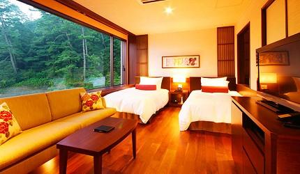 城崎日和山溫泉旅館「金波樓」的「渚之館時じく」Moderate 和洋室