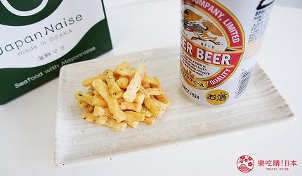大阪伴手禮推薦米菓道地吃法配啤酒