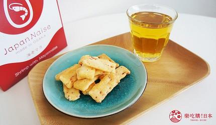 大阪伴手禮推薦米菓日本人吃法配綠茶