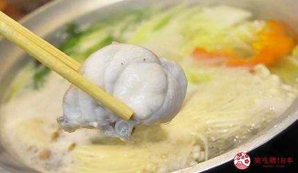 大阪道頓堀燒肉壽司吃到飽「滿腹市場・河豚安」的河豚什錦火鍋(てっちり)