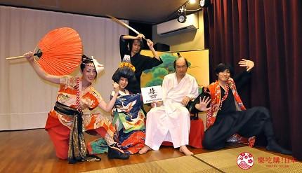 大阪互動式表演劇場推薦「侍 CAFE」的表演者們