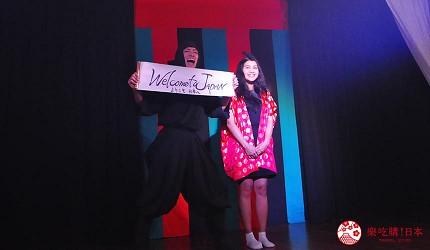 大阪互動式表演劇場推薦「侍 CAFE」,觀眾現場當「公主」(姫様)
