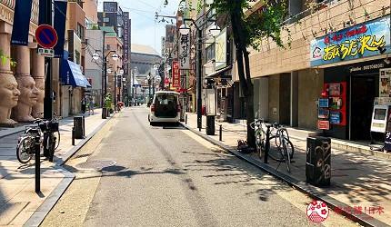 大阪難波海鮮大餐店家推薦「知床漁場 道頓堀店」的前往方式步驟四