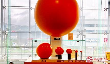 神戶親子寓教於樂景點推薦「人與防災未來中心」(人と防災未来センター)西館2F震度差異展現球體