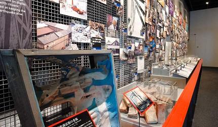 神戶親子寓教於樂景點推薦「人與防災未來中心」(人と防災未来センター)西館3F震災記憶樓層