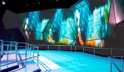 神戶親子寓教於樂景點推薦「人與防災未來中心」(人と防災未来センター)的1.17劇場可以觀看阪神大地震影片
