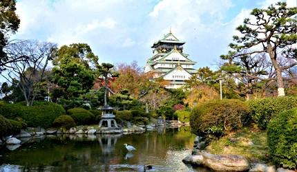 大阪京都自由行JCB卡超優惠!大阪城照片