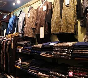 奈良必逛商店街「餅飯殿中心街」的推薦和服店家「雅」的日式作務衣