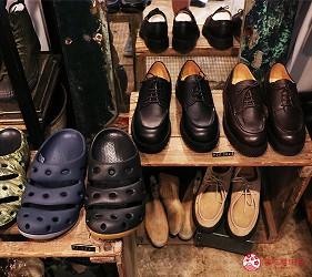 奈良必逛商店街「餅飯殿中心街」的推薦店家「have a golden day!」的人氣男用鞋