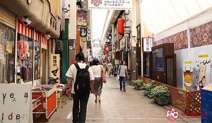 奈良必逛商店街「饼饭殿中心街」一景