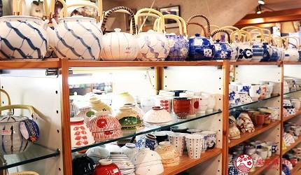 奈良必逛商店街「饼饭殿中心街」的推荐店家「器まつもり」的人气茶具陶器