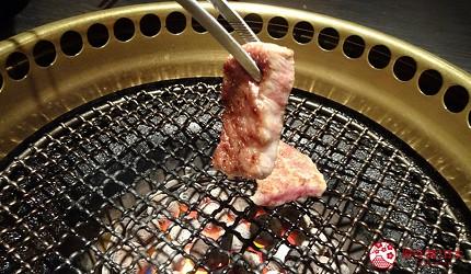 大阪心齋橋燒肉推薦必吃「黑毛和牛燒肉一」的燒肉
