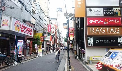 大阪心齋橋燒肉推薦必吃「黑毛和牛燒肉一」店家交通方式