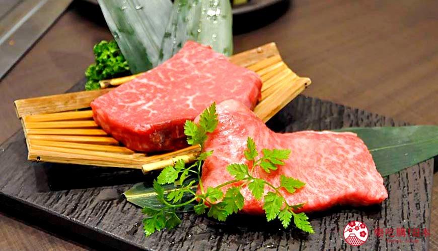 神户三宫名店「彩 SAI-DINING」的A5等级神户牛排铁板烧套餐