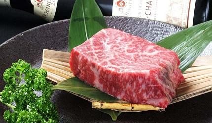 神户三宫名店「彩 SAI-DINING」A5等级神户牛:干式熟成