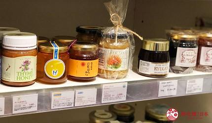 京都車站複合式商店街「The CUBE」地下二樓的有機天然選物店「Biople by CosmeKitchen」(ビープル バイ コスメキッチン)的有機食品