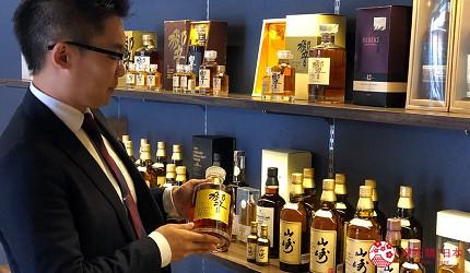 日本威士忌名酒購買推薦京都「酒的美術館 清水寺店」店長解釋古董酒中