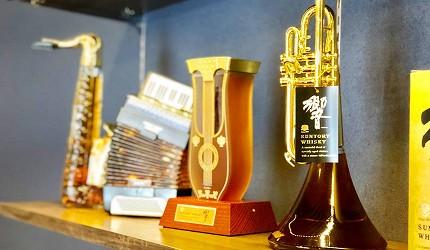 日本威士忌名酒購買推薦京都「酒的美術館 清水寺店」販售的「響」樂器造型收藏版