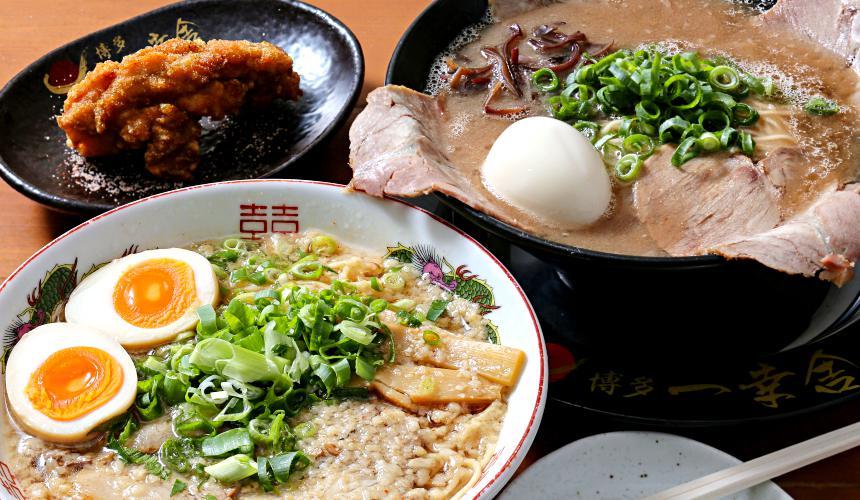 日本必吃推荐拉面在京都车站的「京都拉面小路」的各种拉面